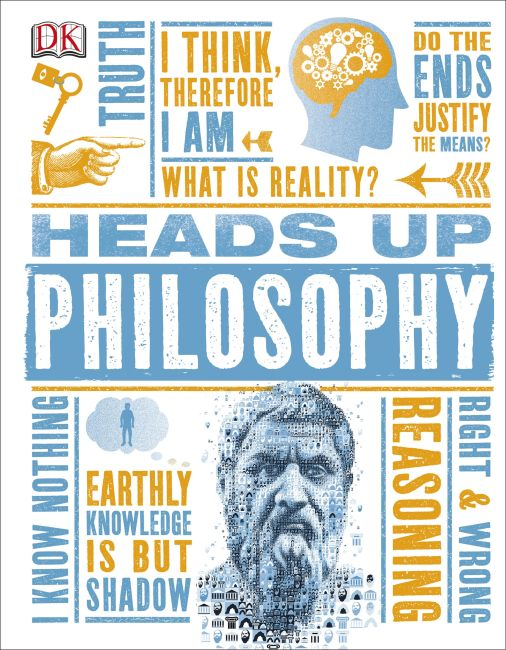 Hardback cover of Heads Up Philosophy