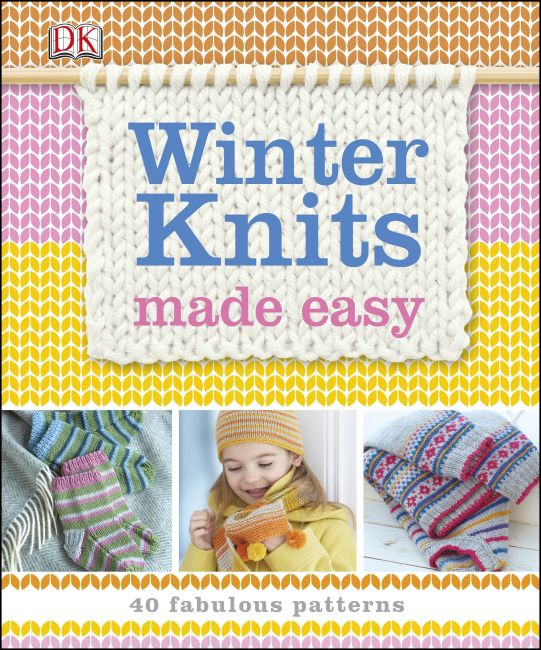 Paperback cover of Winter Knits Made Easy