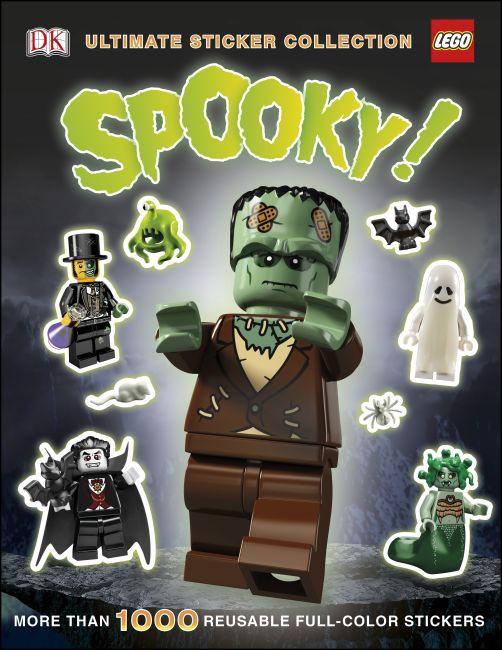 Paperback cover of Ultimate Sticker Collection: LEGO Spooky!