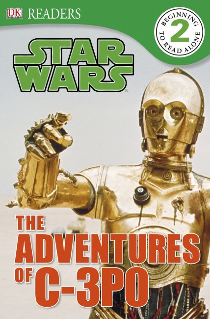 eBook cover of DK Readers L2: Star Wars: The Adventures of C-3PO