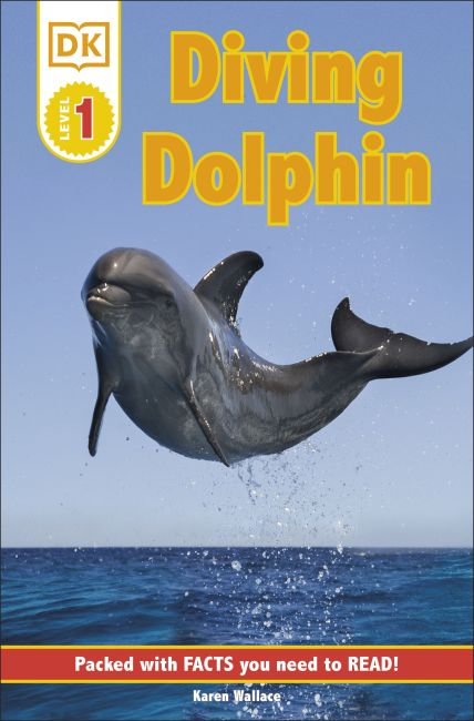 Paperback cover of DK Readers L1: Diving Dolphin