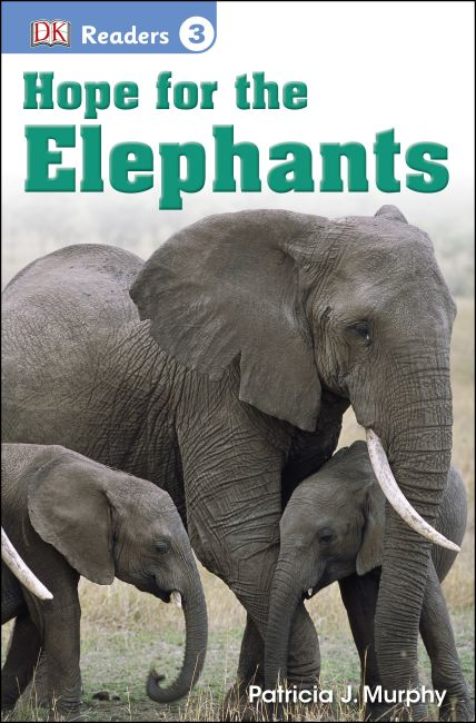 Paperback cover of DK Readers L3: Hope for the Elephants