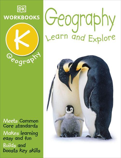 Paperback cover of DK Workbooks: Geography, Kindergarten