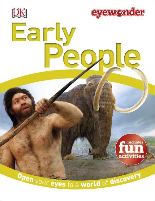 Hardback cover of Eye Wonder: Early People