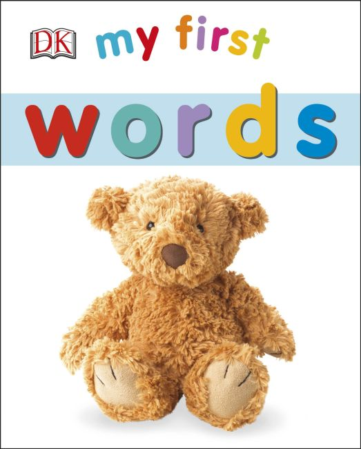 Board book cover of My First Words