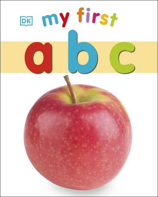 Board book cover of My First ABC