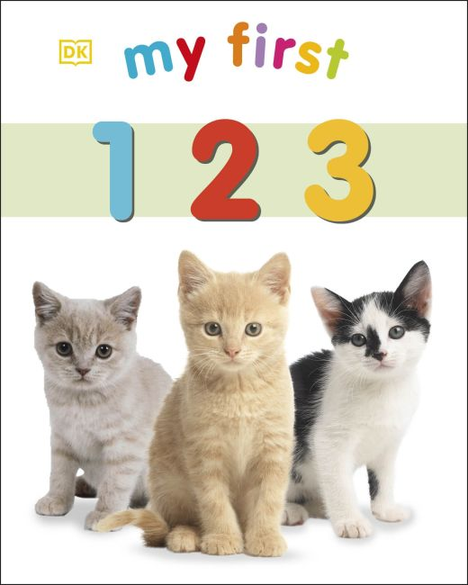 Board book cover of My First 123