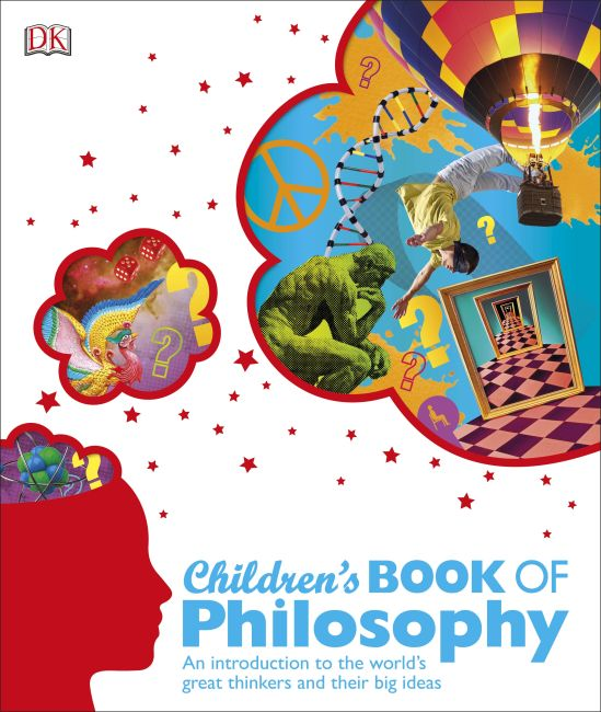 Hardback cover of Children's Book of Philosophy