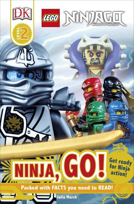 Paperback cover of DK Readers L2: LEGO® NINJAGO: Ninja, Go!