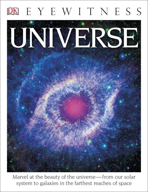 Paperback cover of DK Eyewitness Books: Universe