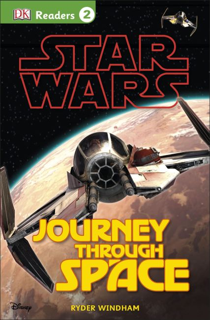 Paperback cover of DK Readers L2: Star Wars: Journey Through Space