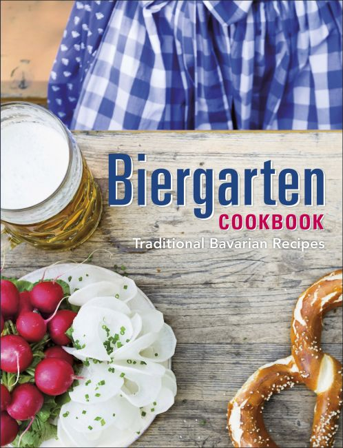 Hardback cover of Biergarten Cookbook