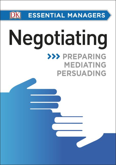Paperback cover of DK Essential Managers: Negotiating