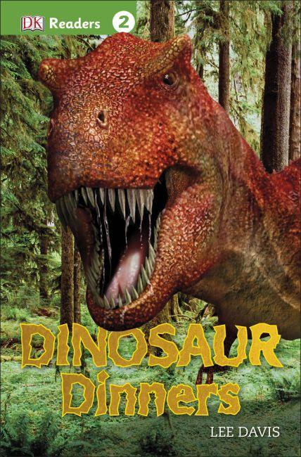 Paperback cover of DK Readers L2: Dinosaur Dinners