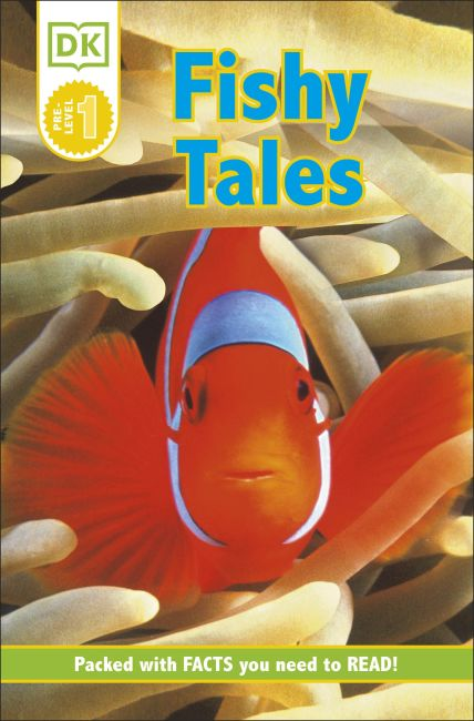 Paperback cover of DK Readers L0: Fishy Tales