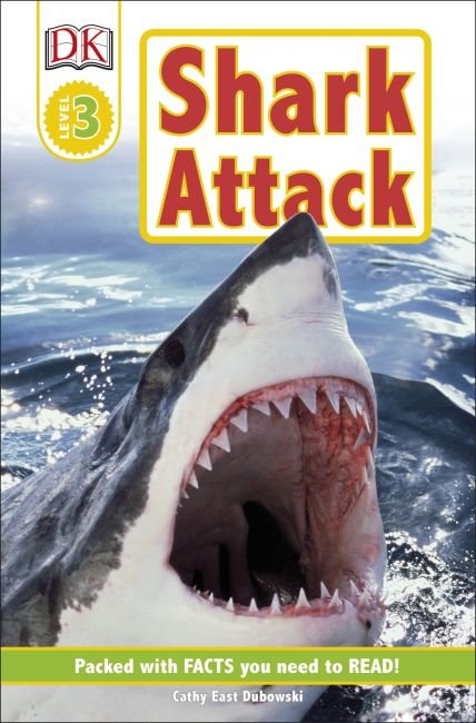 Paperback cover of DK Readers L3: Shark Attack!