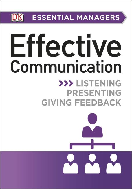 Paperback cover of DK Essential Managers: Effective Communication
