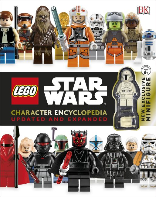 Hardback cover of LEGO Star Wars Character Encyclopedia: Updated and Expanded