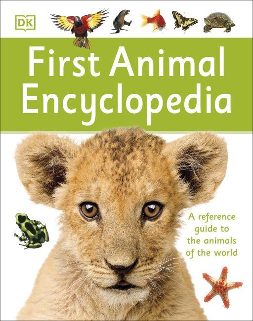 Hardback cover of First Animal Encyclopedia