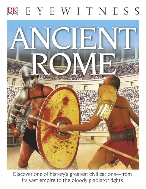 Paperback cover of DK Eyewitness Books: Ancient Rome