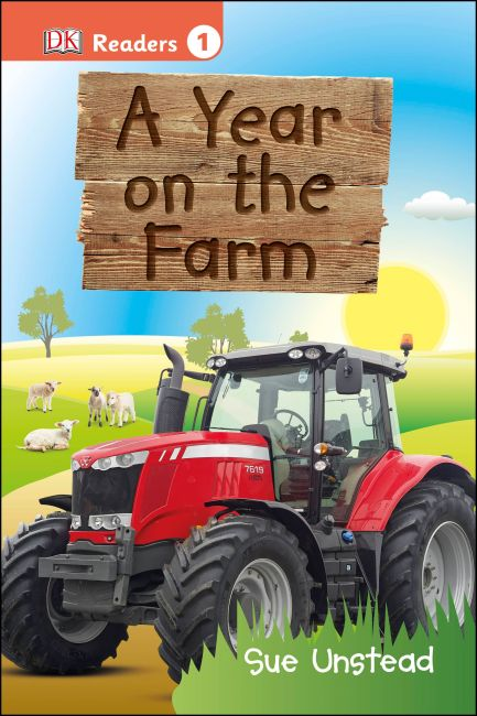 Hardback cover of DK Readers L1: A Year on the Farm