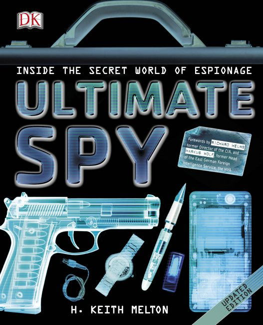 Hardback cover of Ultimate Spy