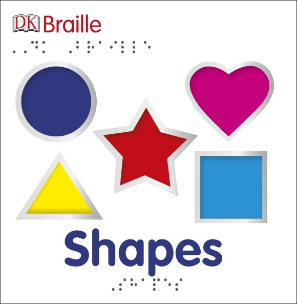 Board book cover of DK Braille: Shapes