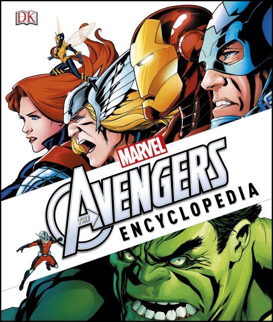 Hardback cover of Marvel's The Avengers Encyclopedia