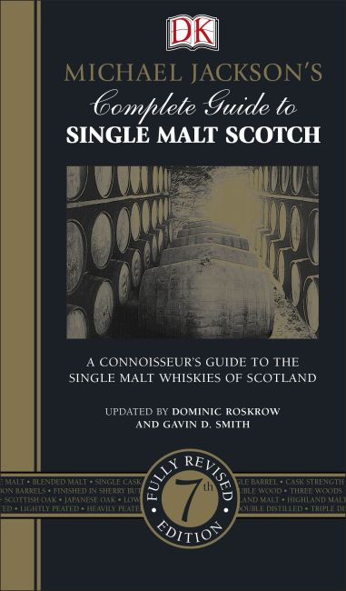 Hardback cover of Michael Jackson's Complete Guide to Single Malt Scotch