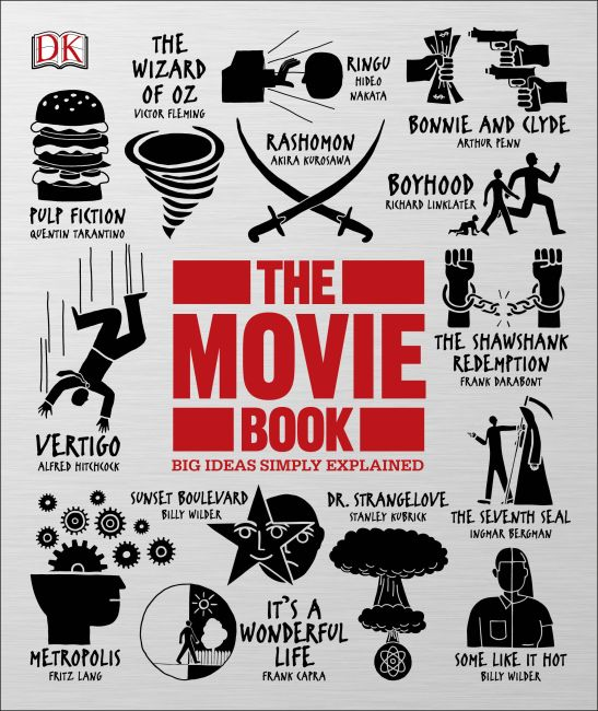 Hardback cover of The Movie Book