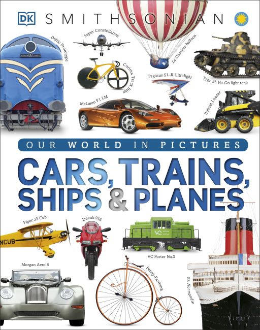 Hardback cover of Cars, Trains, Ships, and Planes