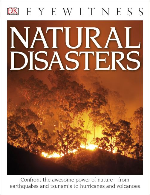 Paperback cover of DK Eyewitness Books: Natural Disasters