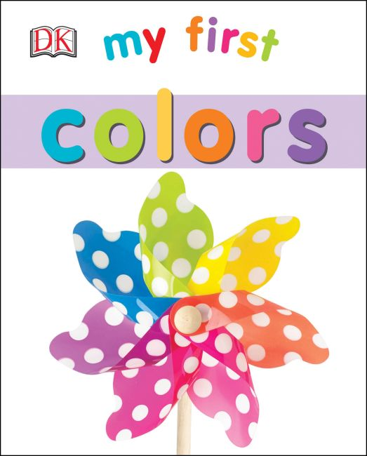 eBook cover of My First Colors
