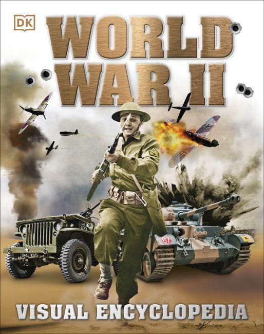 Hardback cover of World War II: Visual Encyclopedia
