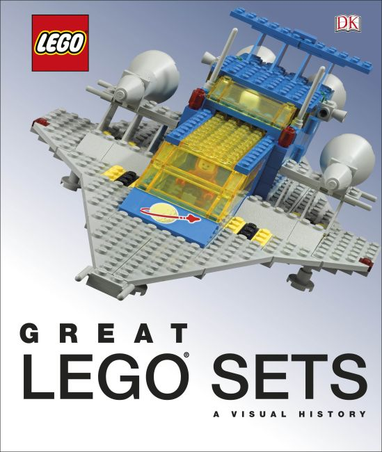 Hardback cover of Great LEGO Sets: A Visual History (Library Edition)