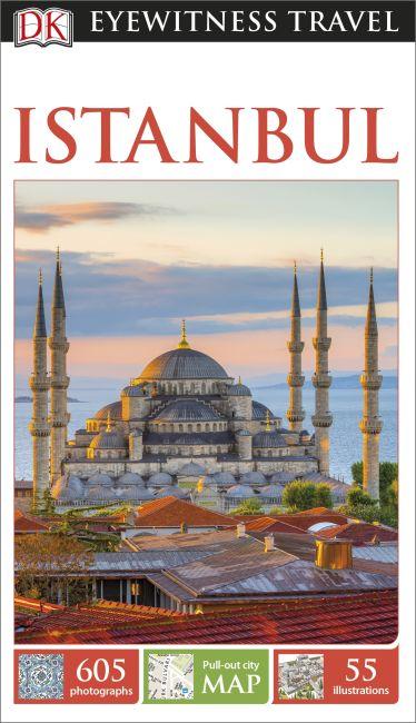 Hardback cover of DK Eyewitness Istanbul