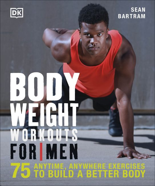 Paperback cover of Bodyweight Workouts for Men