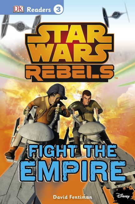 eBook cover of DK Readers L3: Star Wars Rebels Fight the Empire