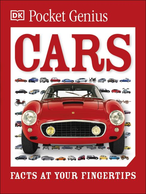 Paperback cover of Pocket Genius: Cars