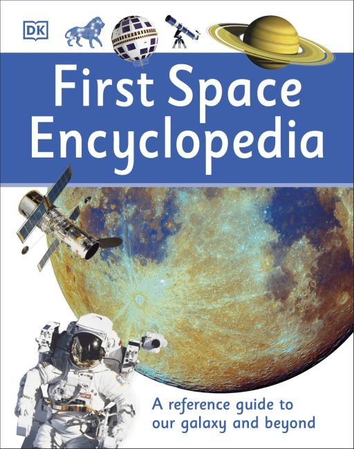 Hardback cover of First Space Encyclopedia