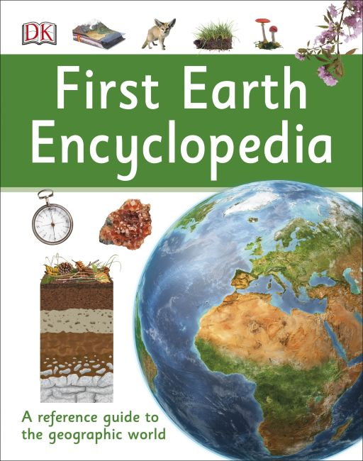 Hardback cover of First Earth Encyclopedia