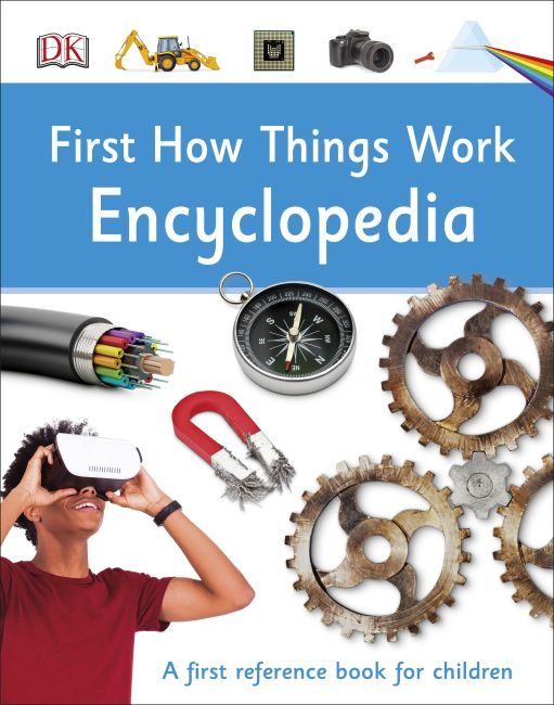 Hardback cover of First How Things Work Encyclopedia