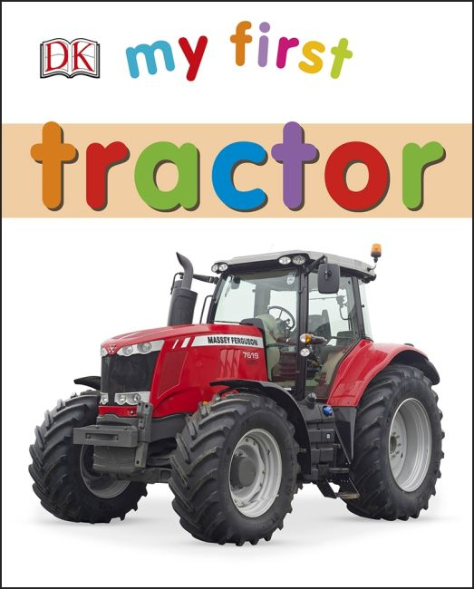 Board book cover of My First Tractor
