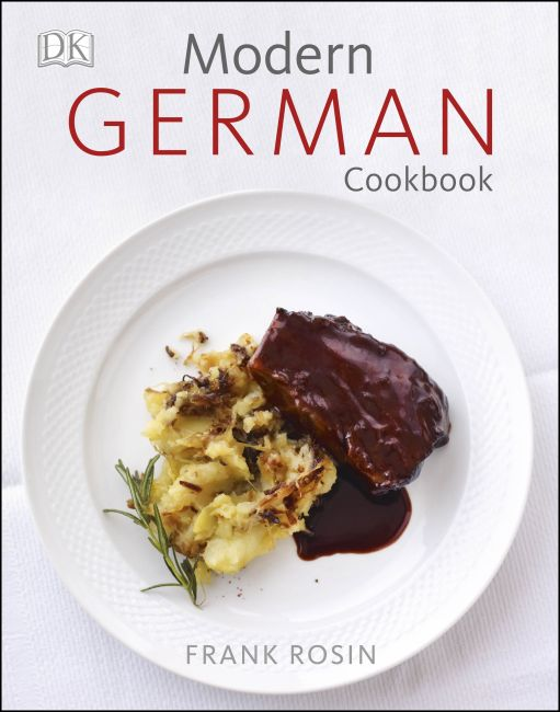 Hardback cover of Modern German Cookbook