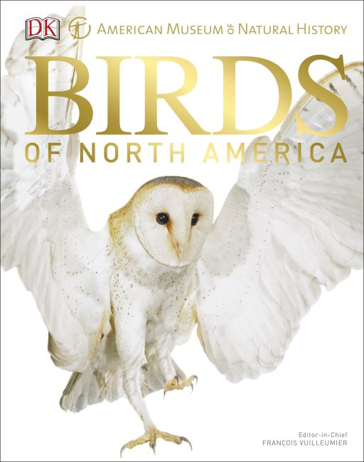 Hardback cover of American Museum of Natural History Birds of North America