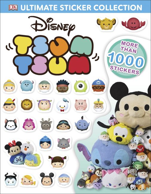 Paperback cover of Ultimate Sticker Collection: Disney Tsum Tsum