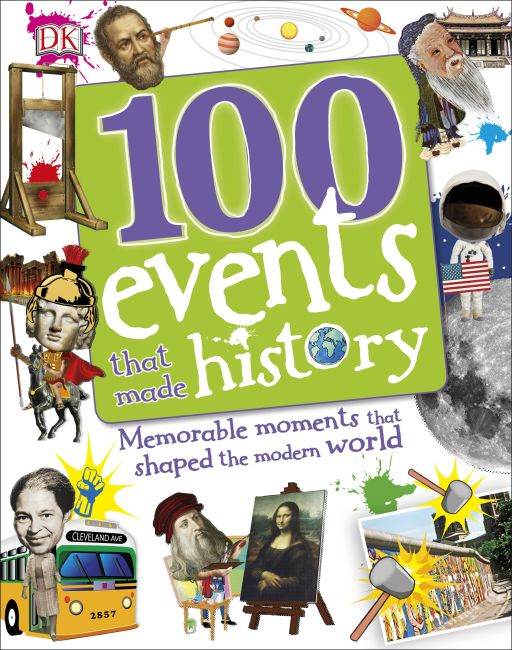Hardback cover of 100 Events That Made History