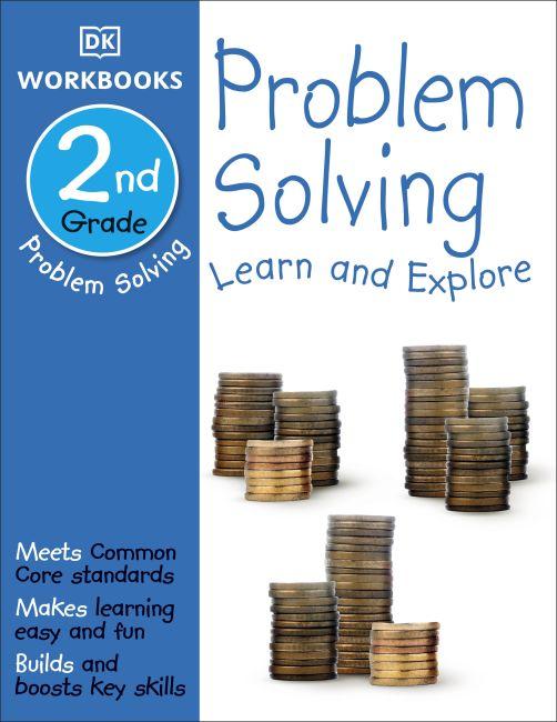 Paperback cover of DK Workbooks: Problem Solving, Second Grade