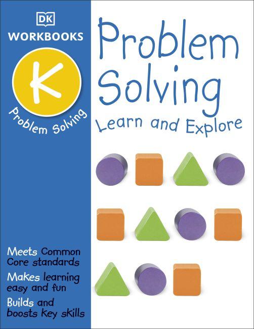 Paperback cover of DK Workbooks: Problem Solving, Kindergarten