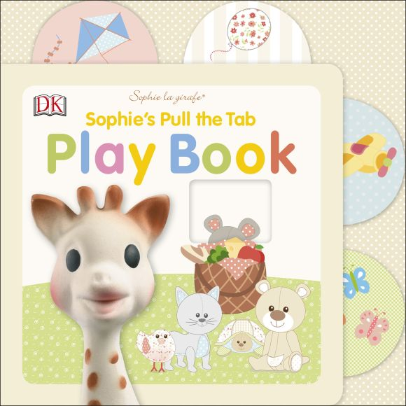 Board book cover of Sophie la girafe: Sophie's Pull the Tab Play Book
